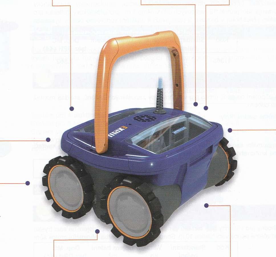 Bazénový automatický vysavač R3