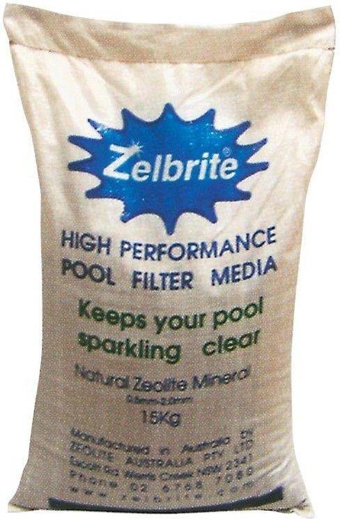 bazénové filtrační medium Zelbrite 15 kg