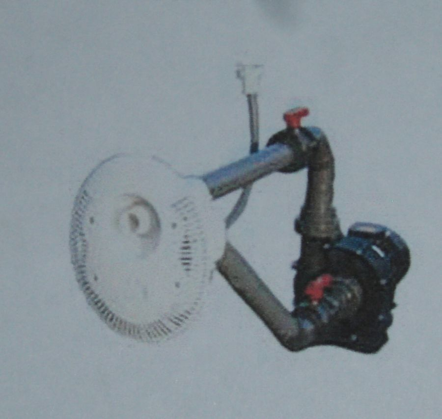 Protiproud s oválnou hlavou 78 m3/h