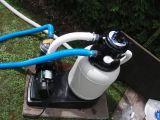 Bazénová písková filtrace