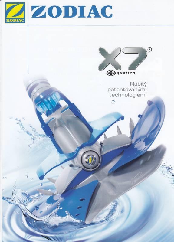 vysavač poloatomatický X7 Zodiac
