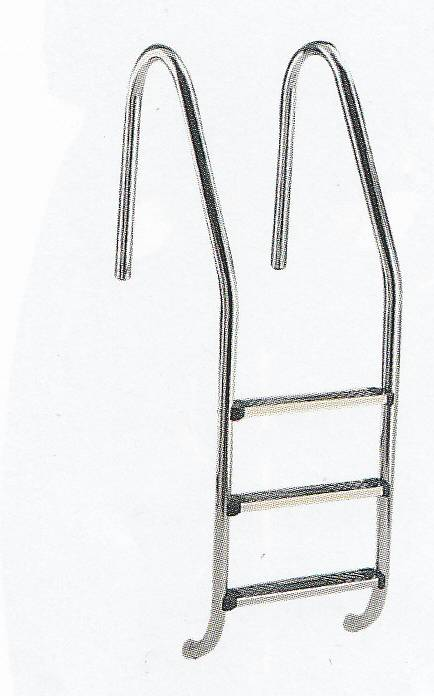 Schůdky 4 st.Standard ocel AISI 316 Astralpool
